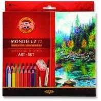 72 kredki ołówkowe akwarelowe sześciokątne KOH-I-NOOR Mondeluz