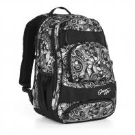 Trzykomorowy plecak młodzieżowy Topgal HIT 894