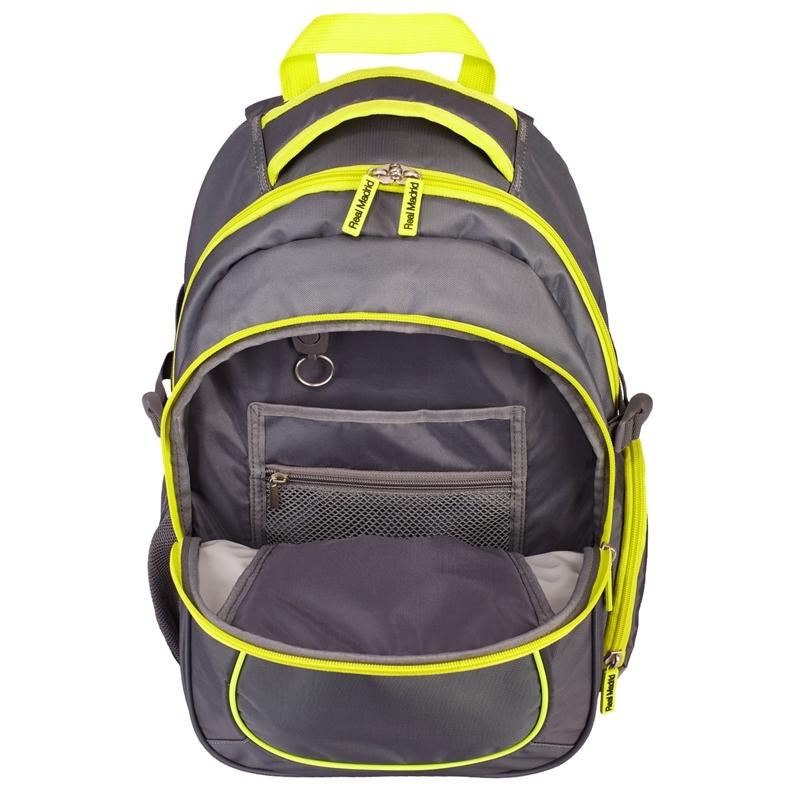 03a996fb4654b Dwukomorowy plecak szkolny Real Madrid Astra RM-99