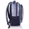 Bardzo lekki plecak młodzieżowy HEAD HD-07 Astra, w kropki