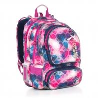 Plecak szkolny dwukomorowy dla dziewczynki Topgal CHI 869