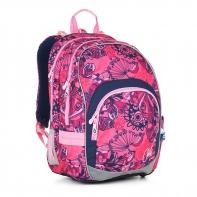 Plecak szkolny dwukomorowy dla dziewczynki Topgal CHI 871