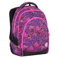 Superlekki plecak szkolny Bagmaster różowy