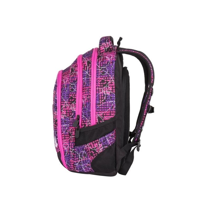 10ca4b0978eaf Superlekki plecak szkolny Bagmaster różowy