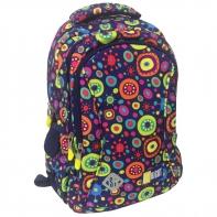 Dwukomorowy plecak szkolny St.Right 19 L, Jelly