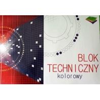 Blok techniczny kolorowy 10 kartek A3
