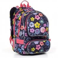 Plecak szkolny dwukomorowy dla dziewczynki Topgal ALLY 17005