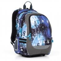 Plecak szkolny dwukomorowy dla chłopca Topgal CODA 17006