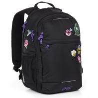 Dwukomorowy plecak młodzieżowy Topgal RUBI 17007
