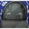 Trzykomorowy plecak szkolny St.Right 29 L, Daisies