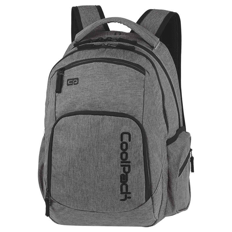 87fea31856702 Młodzieżowy plecak szkolny CoolPack Break 29 l, Snow Grey