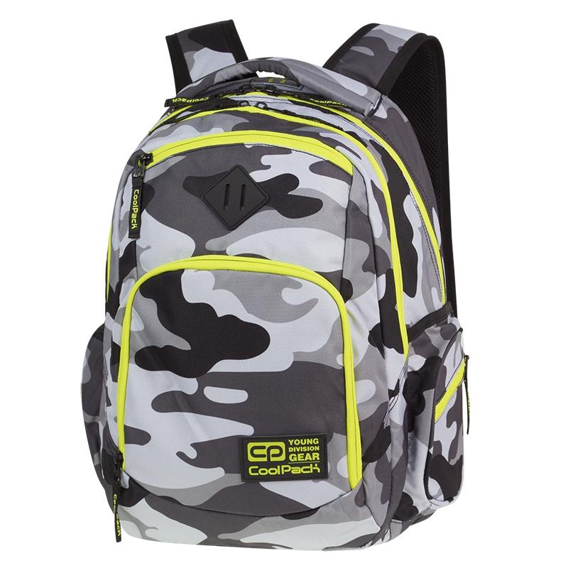 5ed17a1696f68 Młodzieżowy plecak szkolny CoolPack Break 29 l, Como Yellow Neon A365