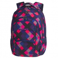 Młodzieżowy plecak szkolny CoolPack College 28L, Electric Pink A520