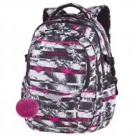 Młodzieżowy plecak szkolny CoolPack Factor 29L, Palm Trees A025