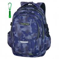 Młodzieżowy plecak szkolny CoolPack Factor 29L, Misty Green A040