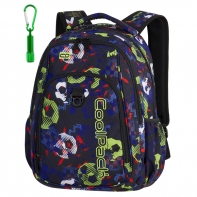 Młodzieżowy plecak szkolny CoolPack Strike 26L, Football A187