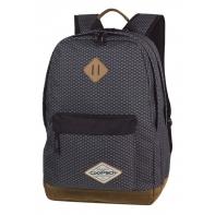 Bardzo lekki dwukomorowy plecak CoolPack Scout 26 L, Dark Grey Net A122