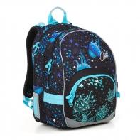 Plecak szkolny dwukomorowy dla dziewczynki Topgal KIMI 18013