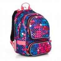 Plecak szkolny dwukomorowy dla dziewczynki Topgal ALLY 18012