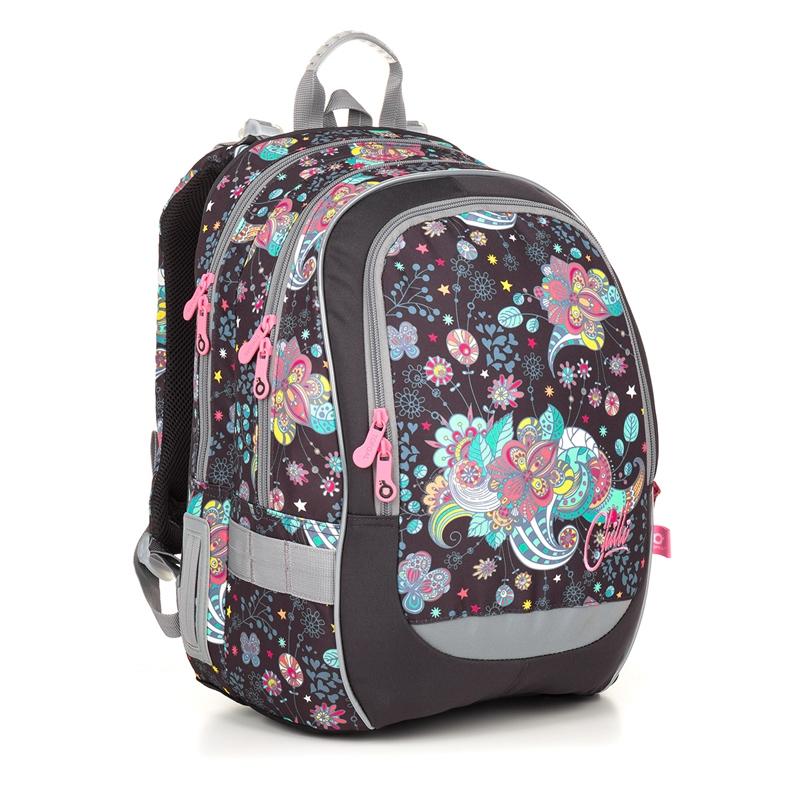511a88ebb3acd Plecak szkolny dwukomorowy dla dziewczynki Topgal CODA 18006