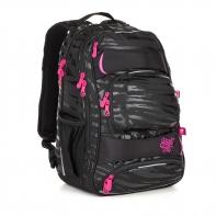 Dwukomorowy plecak młodzieżowy Topgal YUMI 18038
