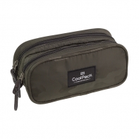 Saszetka piórnik szkolny Coolpack Clever, Como Olive Green A570