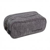 Saszetka piórnik szkolny Coolpack Clever, Color Fusion Grey A545
