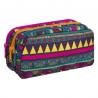 Trzykomorowa saszetka piórnik szkolny Coolpack Primus, Mexican Trip A216