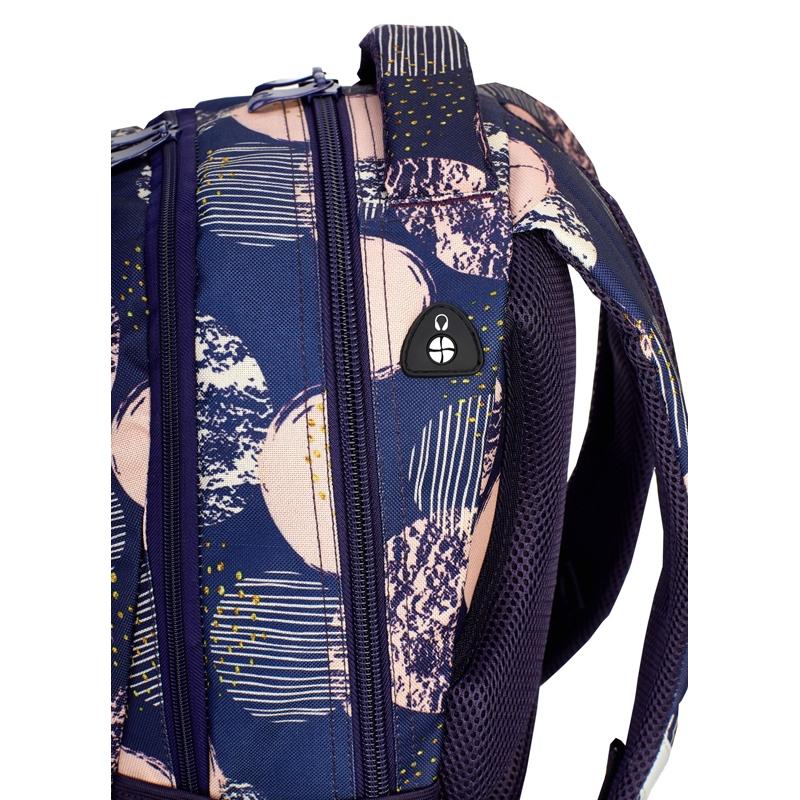 751c6c74d9999 Plecak szkolny Astra Head HD-40, w kremowe koła