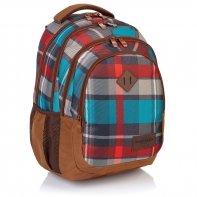 Plecak szkolny Astra Head HD-97, w kratę