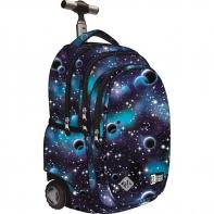 Trzykomorowy plecak na kółkach St.Right 34 L, Cosmos TB1