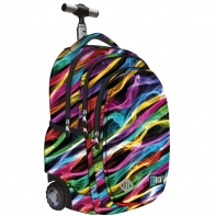 Trzykomorowy plecak na kółkach St.Right 34 L, New Illusion TB1