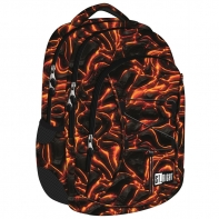 Dwukomorowy plecak szkolny St.Right 24 L, Lava