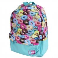 Lekki jednokomorowy plecak szkolny St.Right 16 L, Donuts