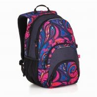 Dwukomorowy plecak młodzieżowy Topgal SIAN 18031