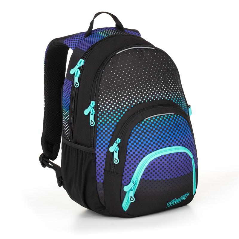 70217498f3831 Dwukomorowy plecak młodzieżowy Topgal SIAN 18032