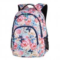 Młodzieżowy plecak szkolny Basic Plus 27L, Butterflies A161