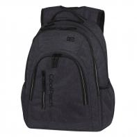 Młodzieżowy plecak szkolny CoolPack Mercator Plus 31 l, Snow Black A326