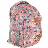 Plecak szkolny Astra Hash HS-11, ptaszki i kwiaty