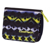 Młodzieżowy portfel damski Coolpack TIE DYE BLUE 742