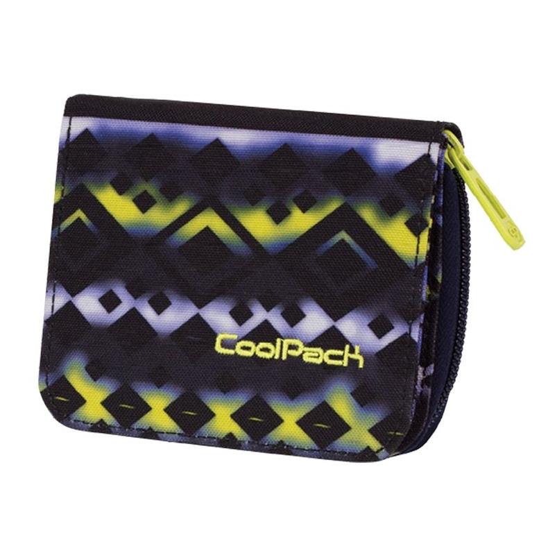 04beb4cd533ce Młodzieżowy portfel damski Coolpack TIE DYE BLUE 742