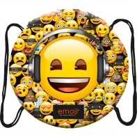 Okrągły worek na obuwie St.Right Emoji Yellow