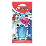 Temperówka z pojemnikiem Maped + naklejki