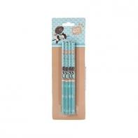 Zestaw 4 ołówków Paso Studio Pets