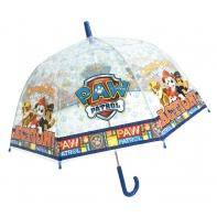 Głęboka przezroczysta parasolka dziecięca, Psi Patrol