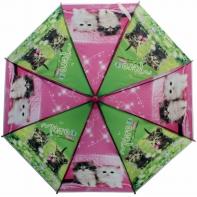 Automatyczna duża parasolka dziecięca, kotki