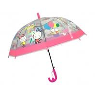 Dziecięca głęboka parasolka z gwizdkiem, ludziki