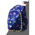 Swiecący plecak szkolny CoolPack LED Joy M 23 L Unicorns + ładowarka