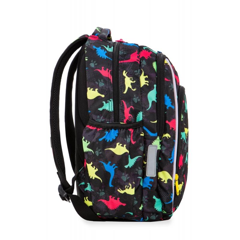 23f05eb918dd3 Swiecący plecak szkolny CoolPack LED Strike S 19 L Dinosaurs A18204 +  ładowarka