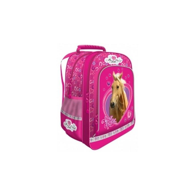 fe6c53ae3ff59 Plecak szkolny dla dziewczynki My Little Friend Koń